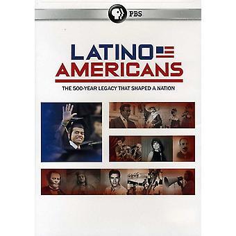 Latino amerikanere [DVD] USA importerer
