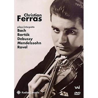 Christain Ferras in Recital [DVD] USA import