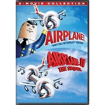 Airplane (2-Movie Collection) [DVD] USA import