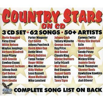 Country stjerner på CD 62 - land stjerner på CD 62 sange 3 [CD] USA import