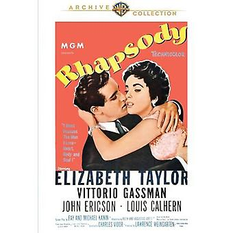 Rhapsody [DVD] USA import
