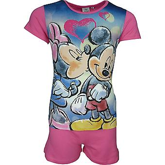 Girls Disney Minnie Mouse | Shortie Pyjama Set