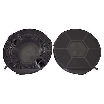 Elica Type 28 Carbon Charcoal Cooker Hood Filter Pack of 2