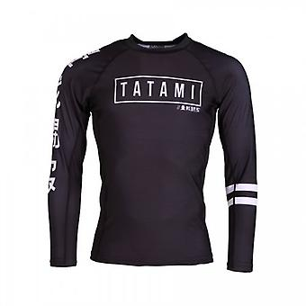 Tatami Kanji Rash Guard - Black
