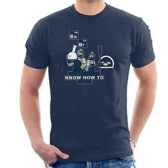 Bagning brød når drenge ved hvordan man laver Breaking Bad mænd T-Shirt