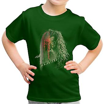 Lord of the Rings Hobbit Gandalf Evil Border Kid's T-Shirt