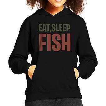 Spis Sleep fisk barns hættetrøje