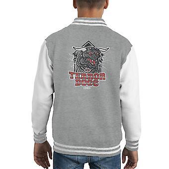 NY Terror Dogs Ghostbusters Kid's Varsity Jacket