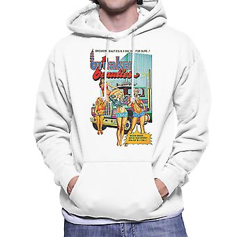 Breaker skönheter Trucker flickor Mäns Hooded Sweatshirt