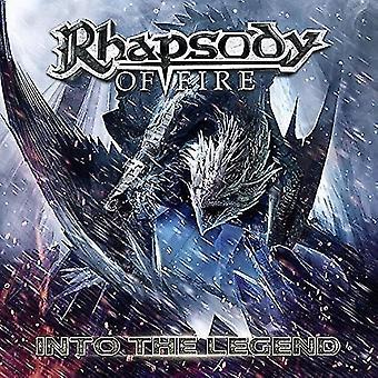 Rhapsody of Fire - in Legend [CD] USA import