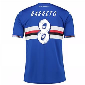 2016 / 17 Sampdoria Home Shirt (Barreto 8) - Kinder