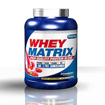Quamtrax Nutrition Whey Matrix White Chocolate 2260 gr (Sport , Muscle mass , Proteins)