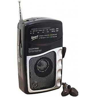 Lloytron Entertainer AM / FM-personlig Radio (N2201BK)