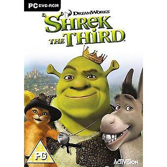 Shrek le troisième jeu de DVD de PC
