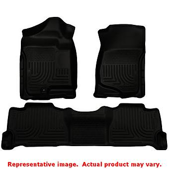 Black Husky Liners # 98251 WeatherBeater Front & 2nd Sea FITS:CADILLAC 2007 - 2