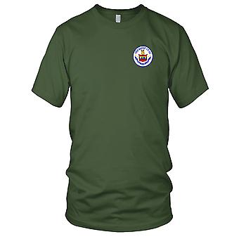 US Navy USS Horne CG-30 Embroidered Patch - Mens T Shirt
