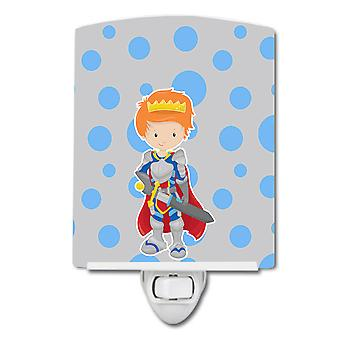 Carolines Treasures  BB8744CNL Ginger Boy Knight Ceramic Night Light