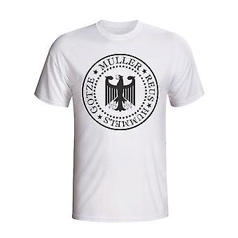 Tyskland Presidential T-shirt (hvid) - børn