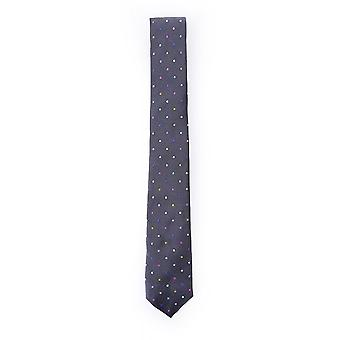 Paul Smith Accessories Mens Slim Tie With Multi Spot Detail