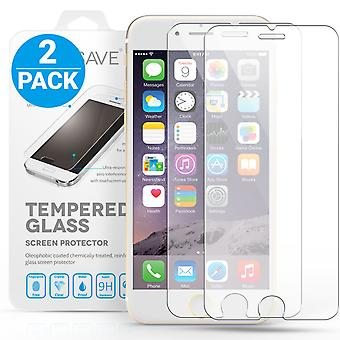 iPhone 6 pluss Glass Screen Protector - Twin Pack