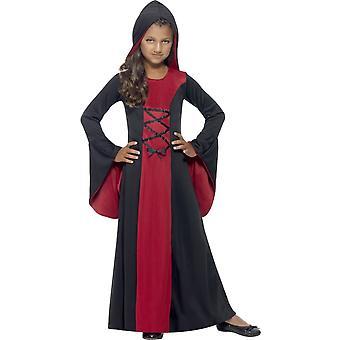 Barnkläder flicka halloween vampyr kostym 451538e249f36