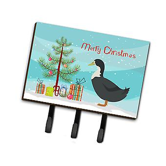 Carolines Treasures  BB9229TH68 Blue Swedish Duck Christmas Leash or Key Holder