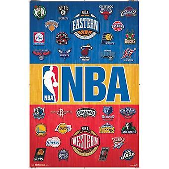 NBA - Logos 14 Poster drucken