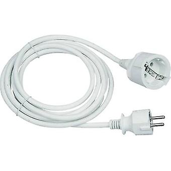 Current Cable extension 16 A White 5 m