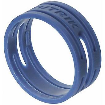 ID ring Neutrik XXR-SET-6 Blue 10 pc(s)