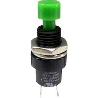 Pushbutton 250 Vac 1.5 A 1 x Off/(On) SCI R13-509A