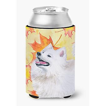 Carolines Treasures  BB9952CC Samoyed Fall Can or Bottle Hugger