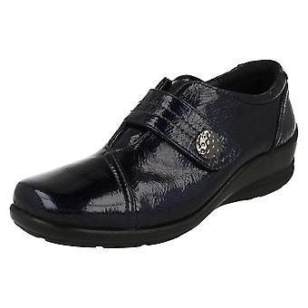Ladies Padders Dual Fit Smart Shoes Simone