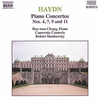 J. Haydn - Haydn: Piano Concertos Nos. 4, 7, 9, 11 [CD] USA import