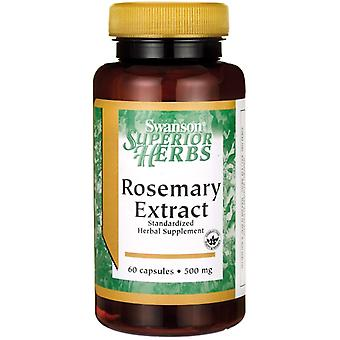 Swanson Rosemary Extract 500 mg 60 caps (Herbalist's , Supplements)