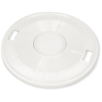 Pentair L4RW Round Skimmer Lid w/o Thermometer - White