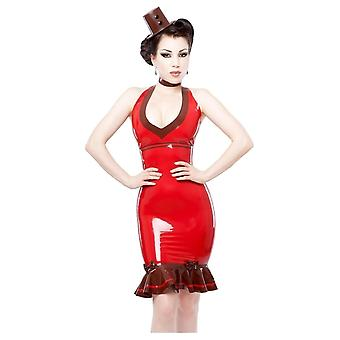 Westward Bound Von Vulcana Latex Rubber Dress.
