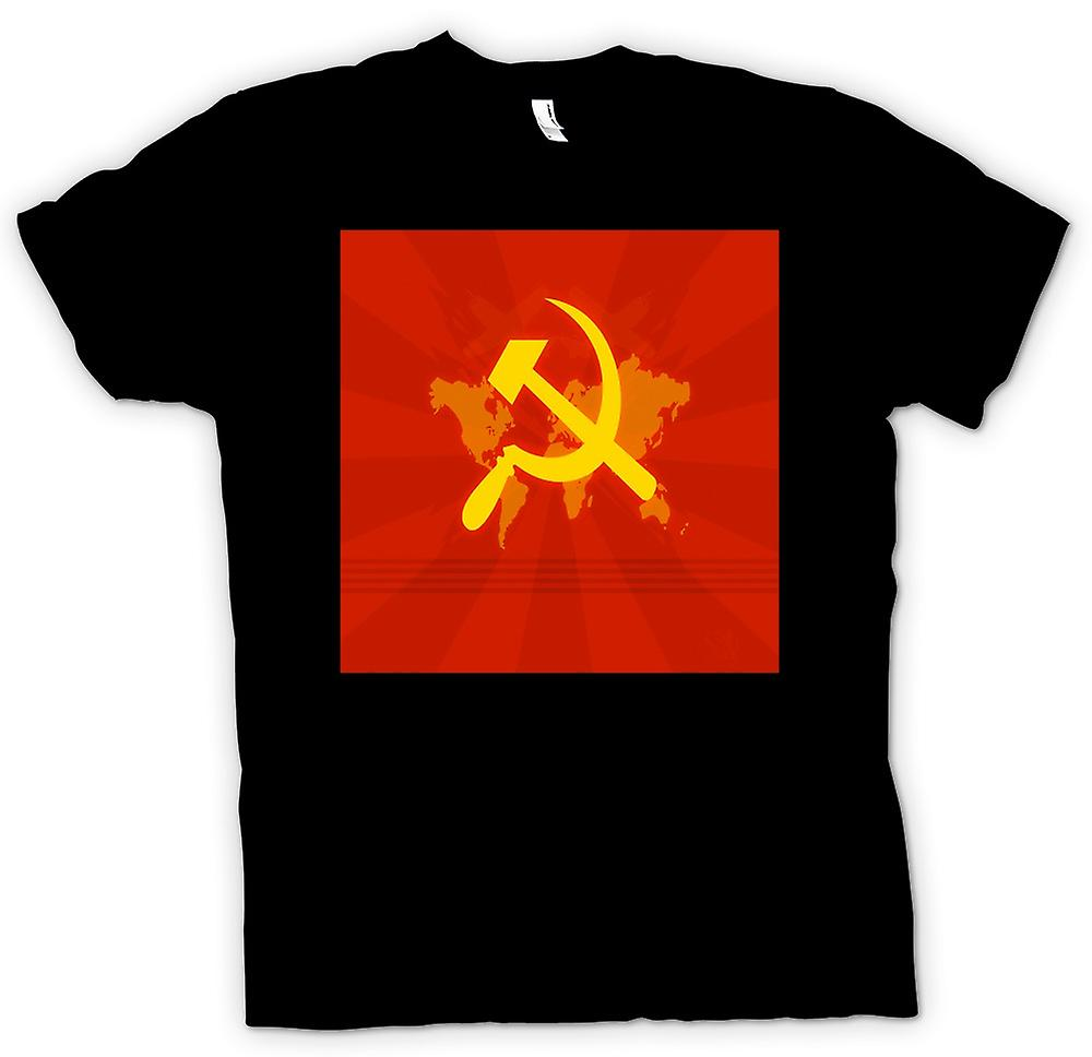 Mens T-shirt - Communism Will Rule The World - Funny