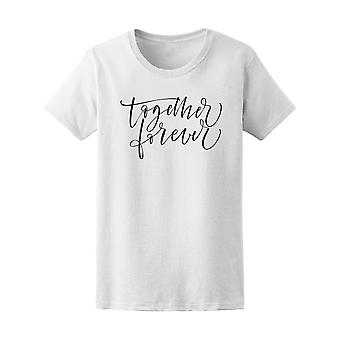 Together Forever Brush Modern Ar Tee Women's -Image by Shutterstock