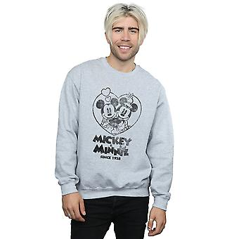 Disney Men's Mickey And Minnie Mouse Since 1928 Sweatshirt