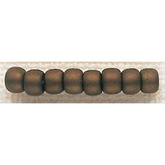 Mill Hill Glass Beads Size 6/0 4mm 5.2g-Antique Mocha