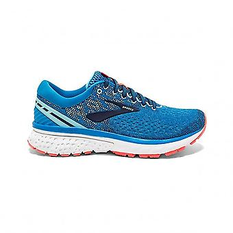 Ghost 11 Womens B STANDARD WIDTH Lightweight Cushioned Road Running Shoes Blue/Navy/Coral