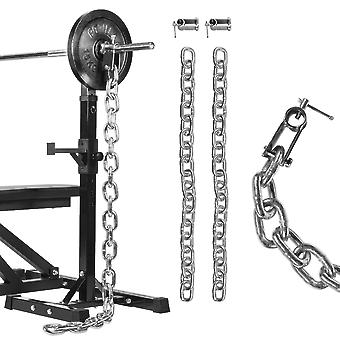 Gewichtsketten Set 51mm Chrom 16 kg - 2 x 8 kg