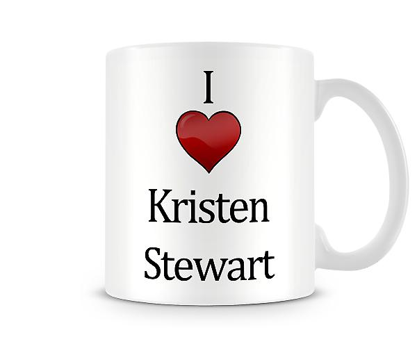 I Love Kristen Stewart Printed Mug