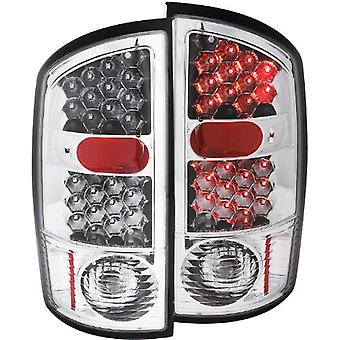 Anzo USA 311017 Dodge Ram Chrome LED Tail Light Assembly - (Sold in Pairs)