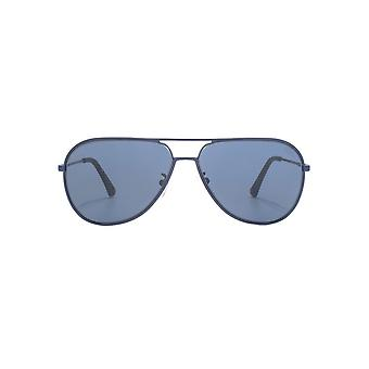 Police Highway Two 1 Sunglasses In Matte Blue