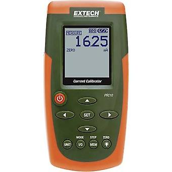 Extech PRC10 Calibrator Amperage 6 x AA battery (included), PSU (included) Calibrated to Manufacturers standards (no certificate)