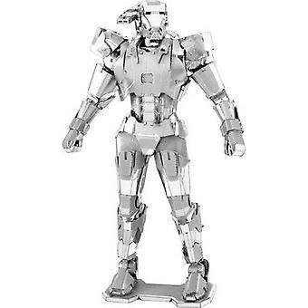 Kit modelo Metal Terra Marvel Avangers máquina de guerra