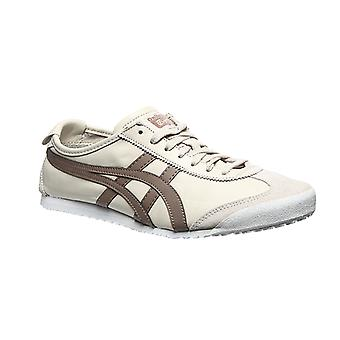 ASICS Mexico 66 real leather shoes sneaker beige