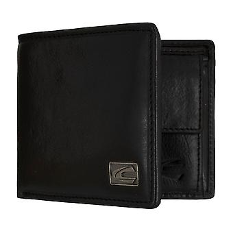 Camel active mens wallet wallet purse with RFID-chip protection black 7318