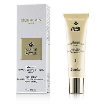 Guerlain Abeille Royale Night Cream - Firming Wrinkle Minimizing Replenishing - 30ml/1oz